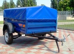 Прицеп КрКЗ-100 высота борта 350 мм